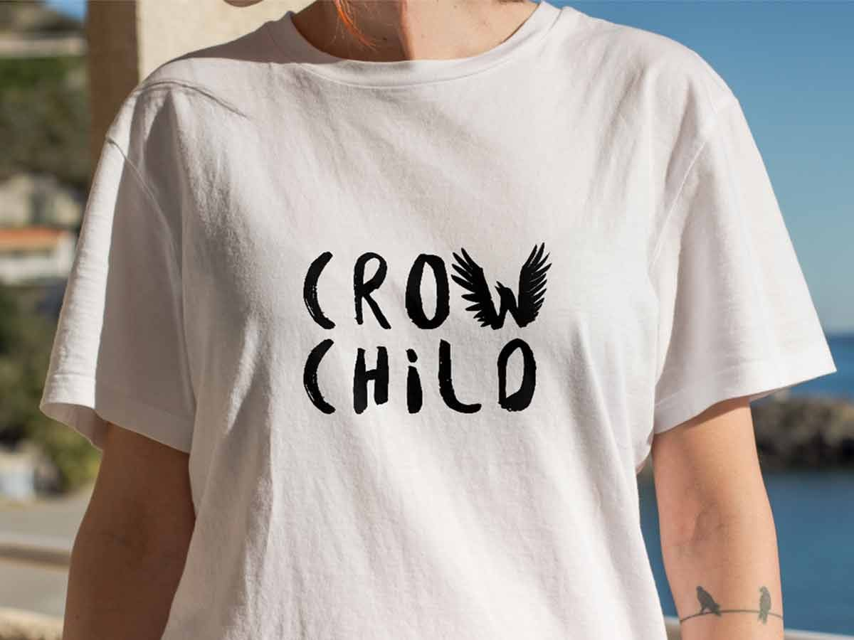Crow Child Tee Design