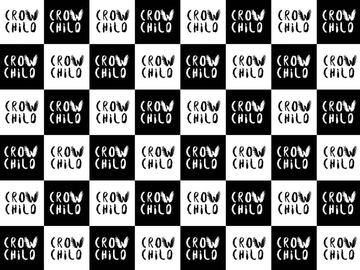 Crow Child Branding Wall