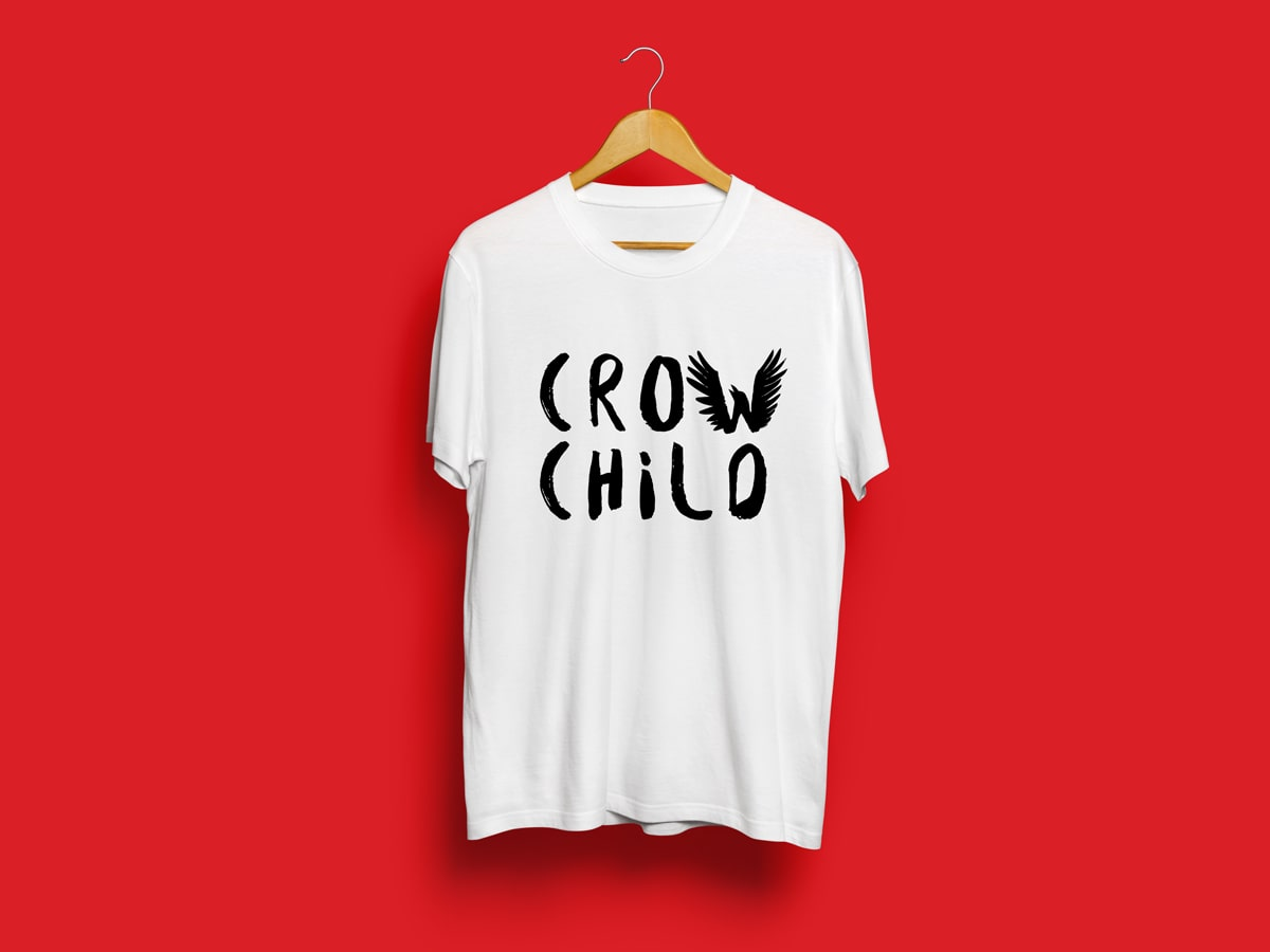 Crow Child T-Shirt Design
