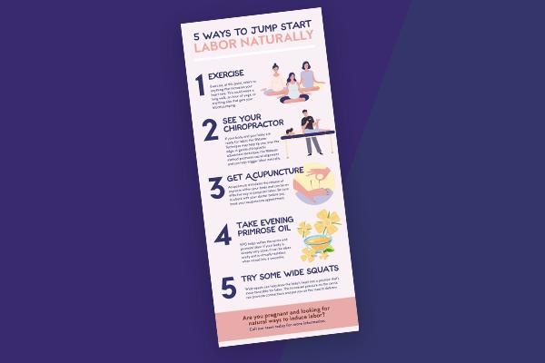 Jump Start Labor Infographic