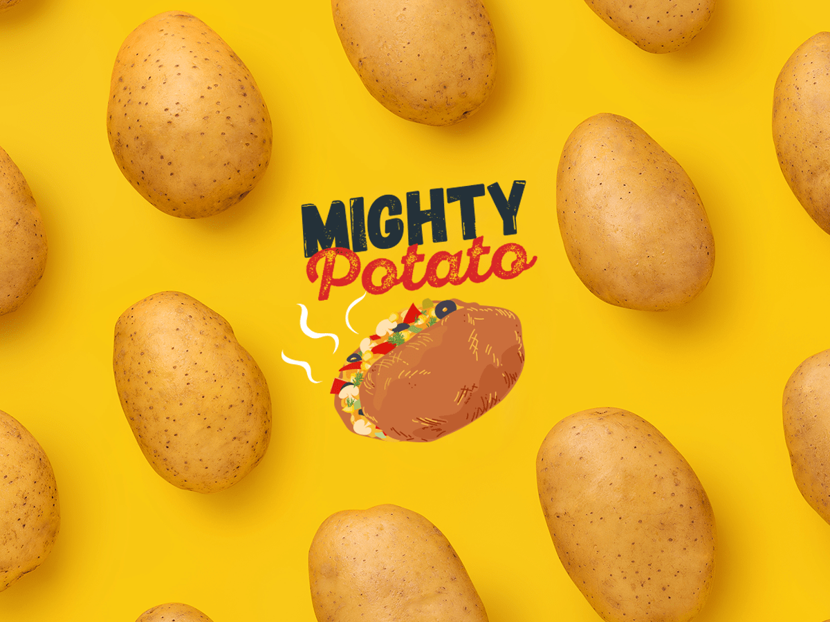 Mighty Potato Branding