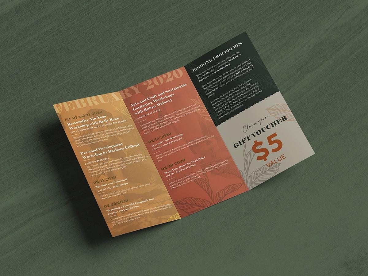 Nidus Trifold Brochure Inner