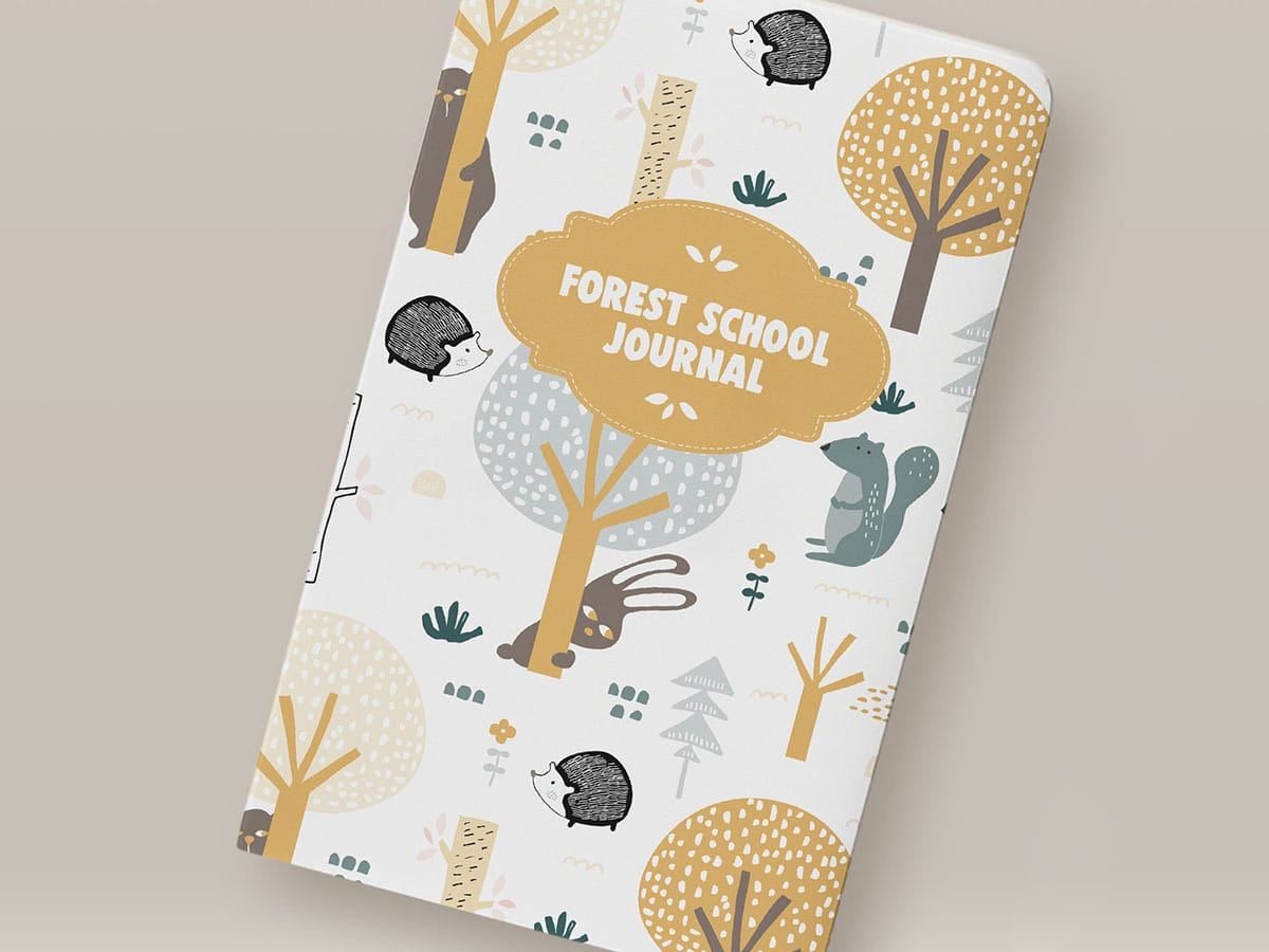 Notebook Cover Design Front