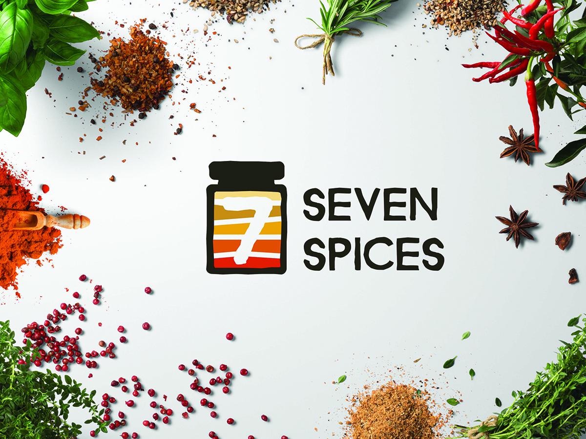 Seven Spices Logo Scene