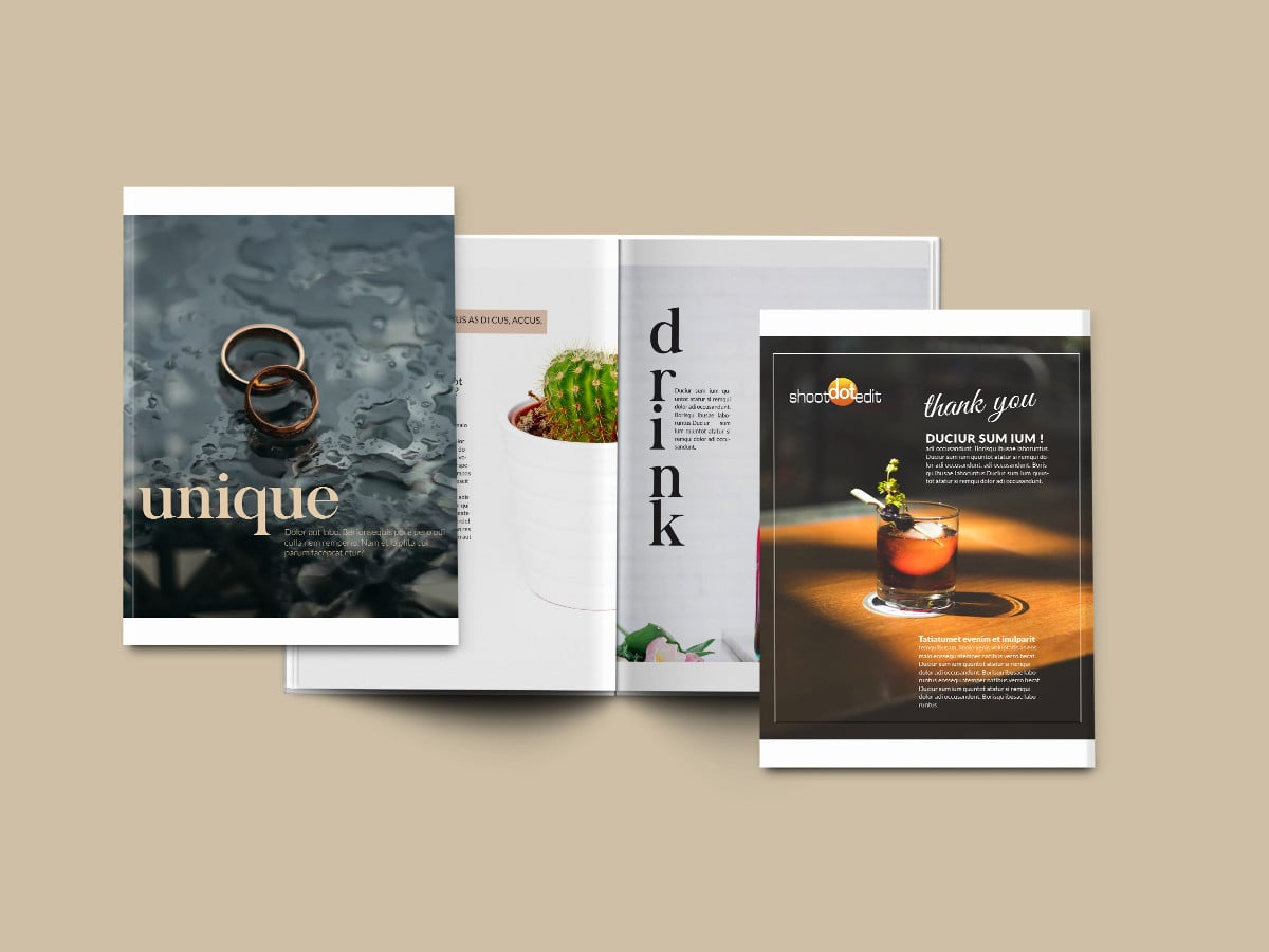 Shoot Dot Edit Magazine Stack