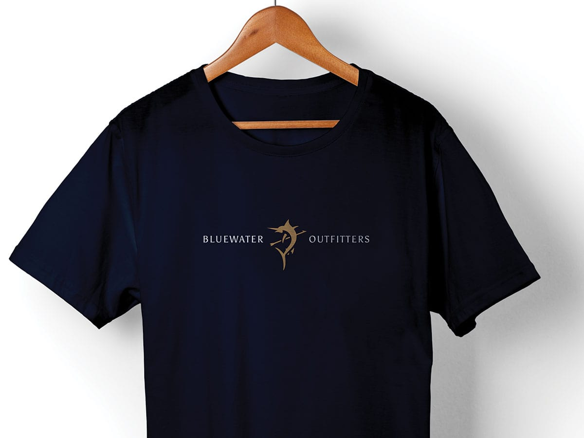 Blue Arrow Expeditions Logo T-Shirt