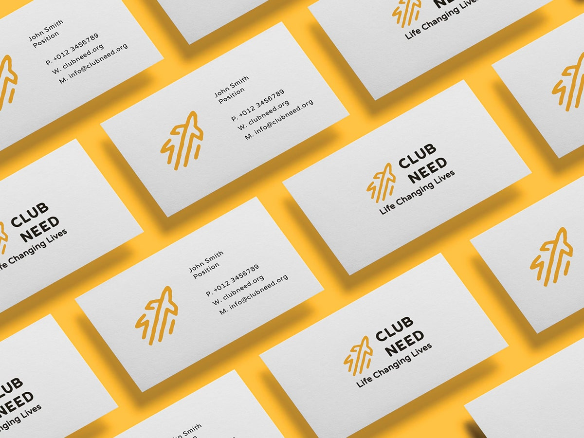 Lykki Club Need Business Card Design