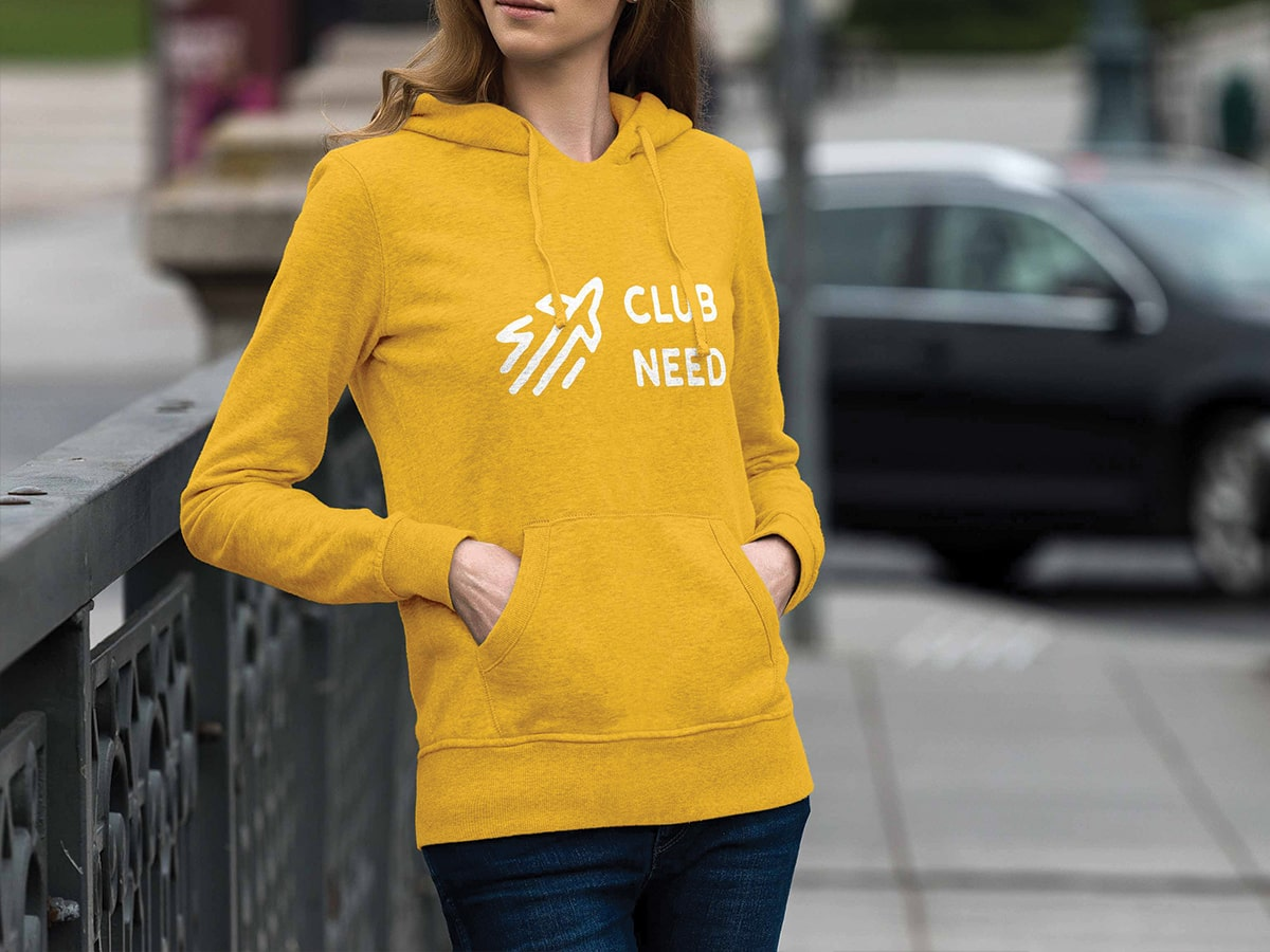 Lykki Club Need Hoody Design