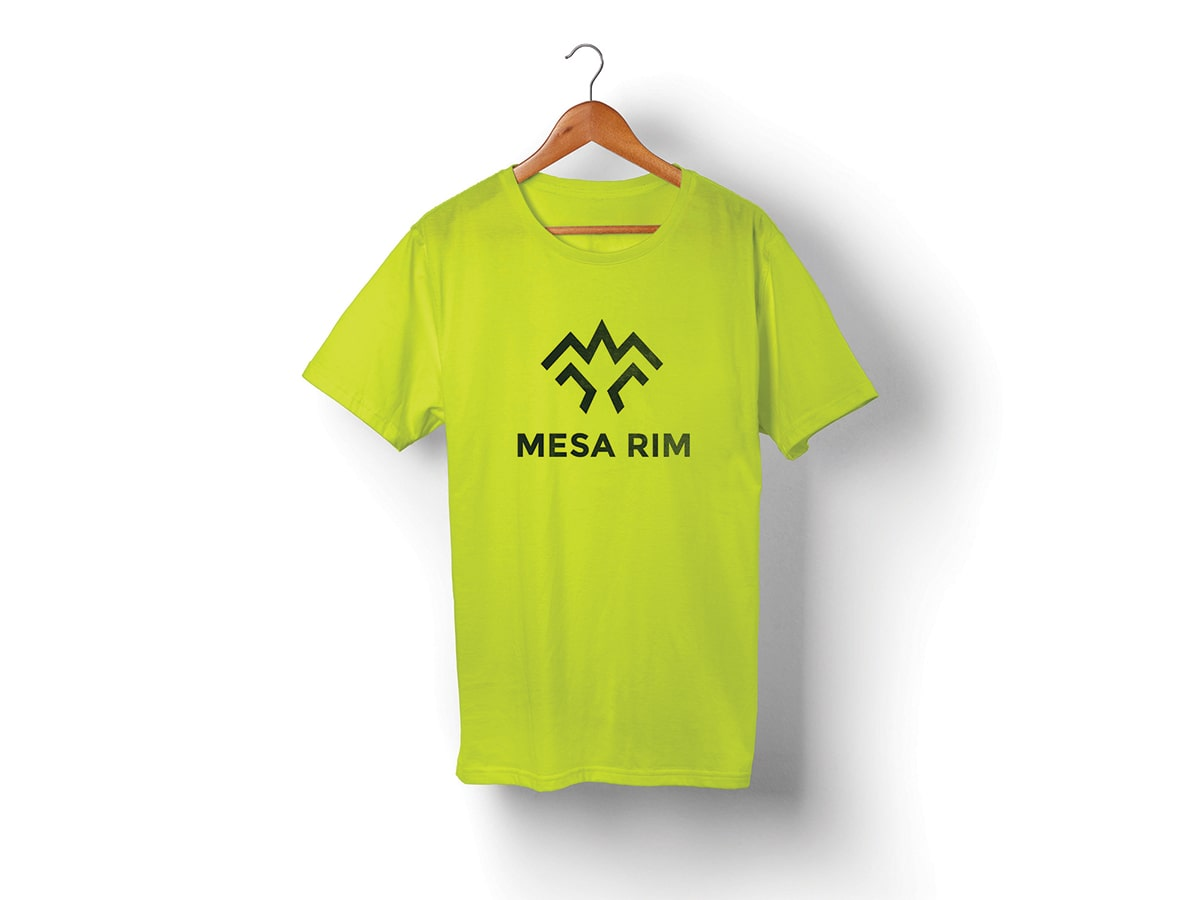 Mesa Rim Logo T-Shirt Design
