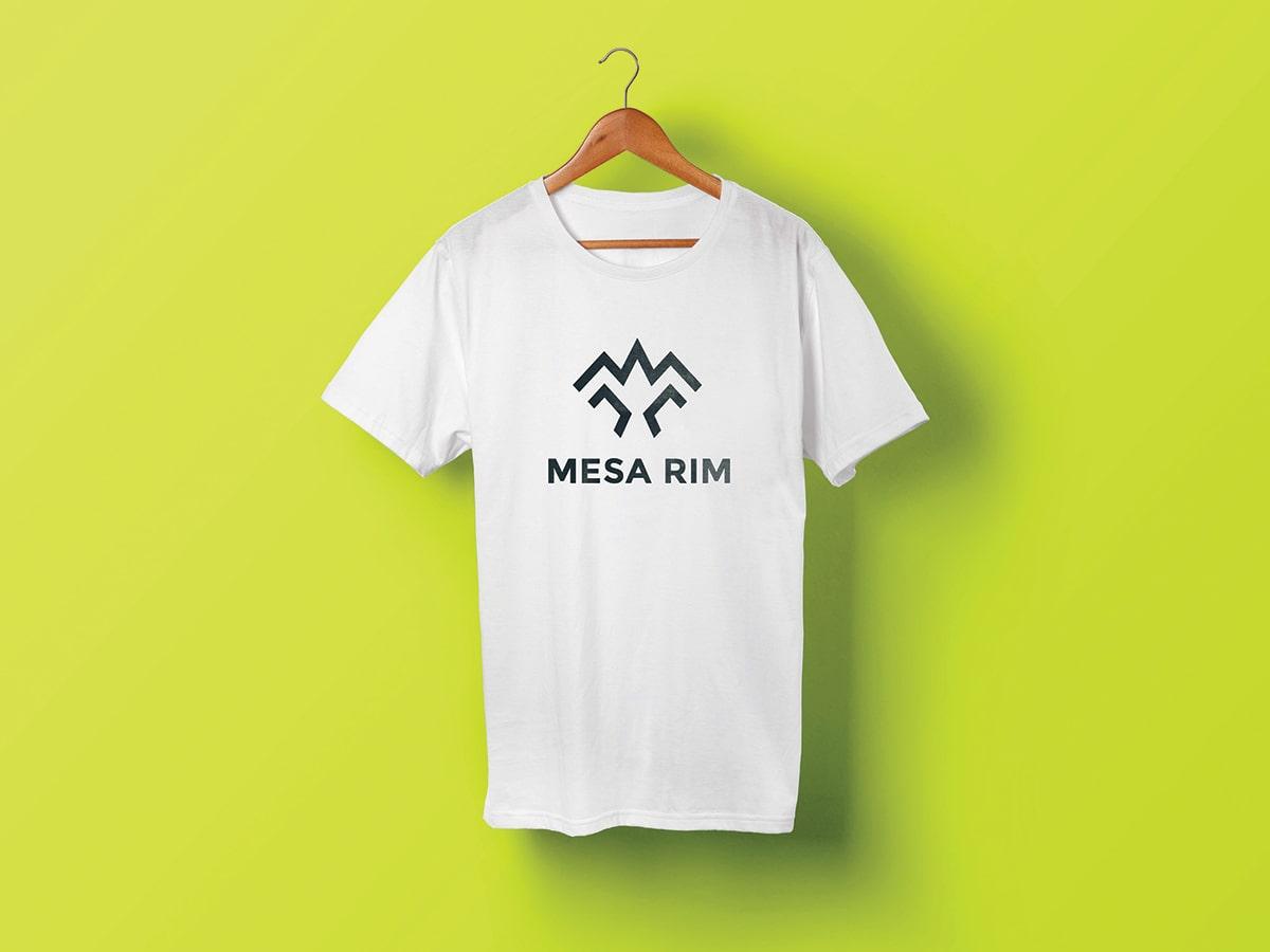 Mesa Rim Logo Tee Design