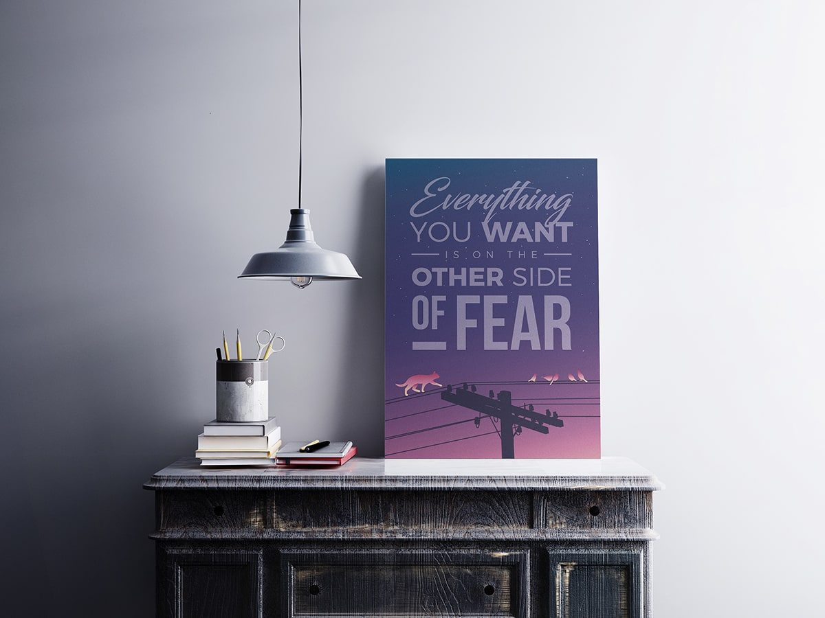 Modern Traction Fear Poster
