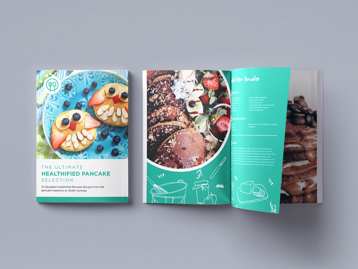 Ultimate Pancake Recipe eBook Mockup