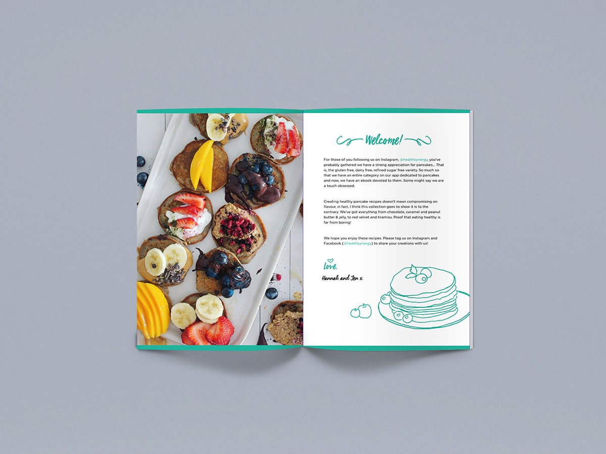 Ultimate Pancake Recipe eBook Inside