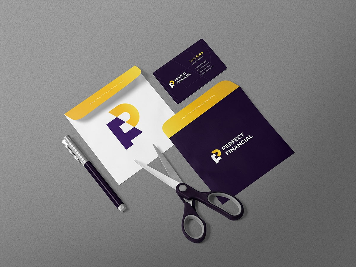 Perfect Financial Stationery Design