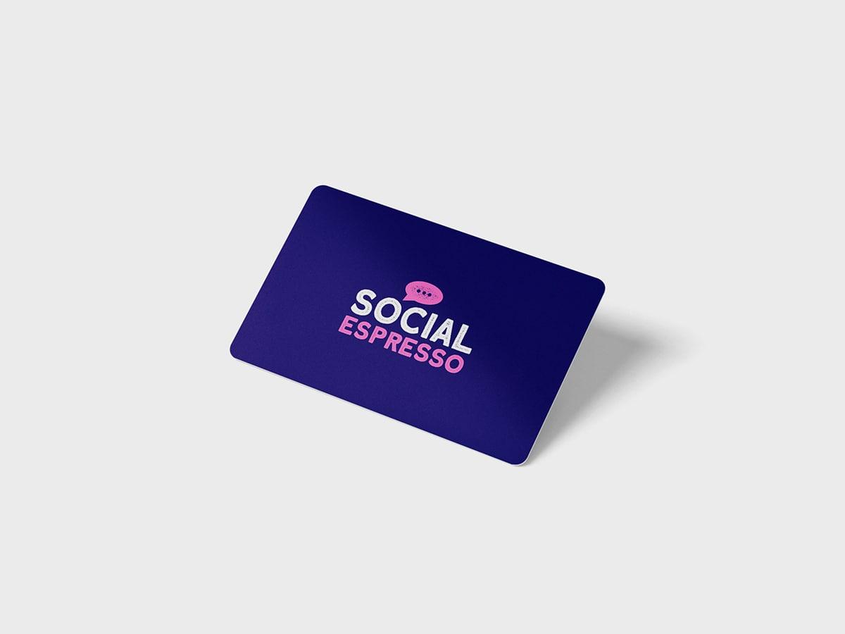 Social Espresso Business Card Design