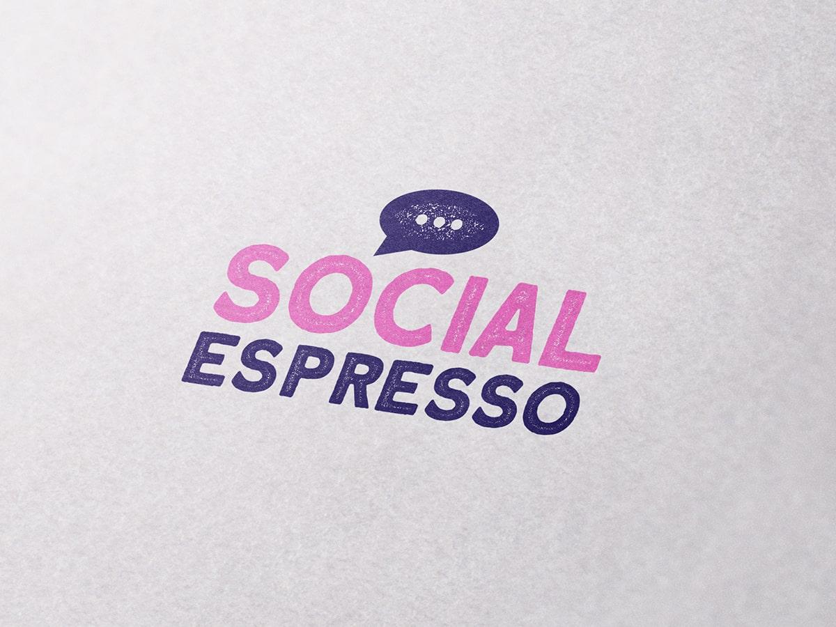 Social Espresso Logo Design