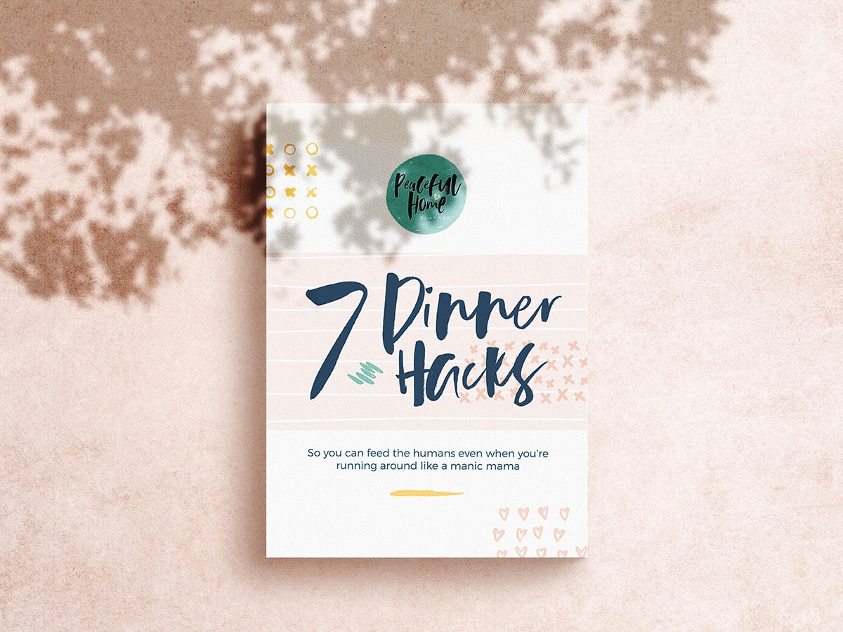 7 Dinner Hacks eBook Cover