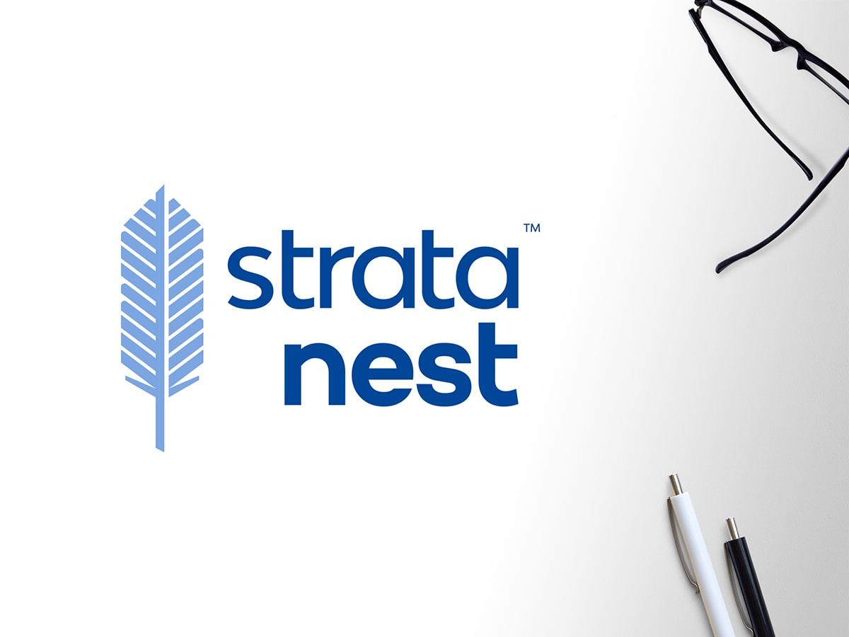 Strata Nest Logo Design