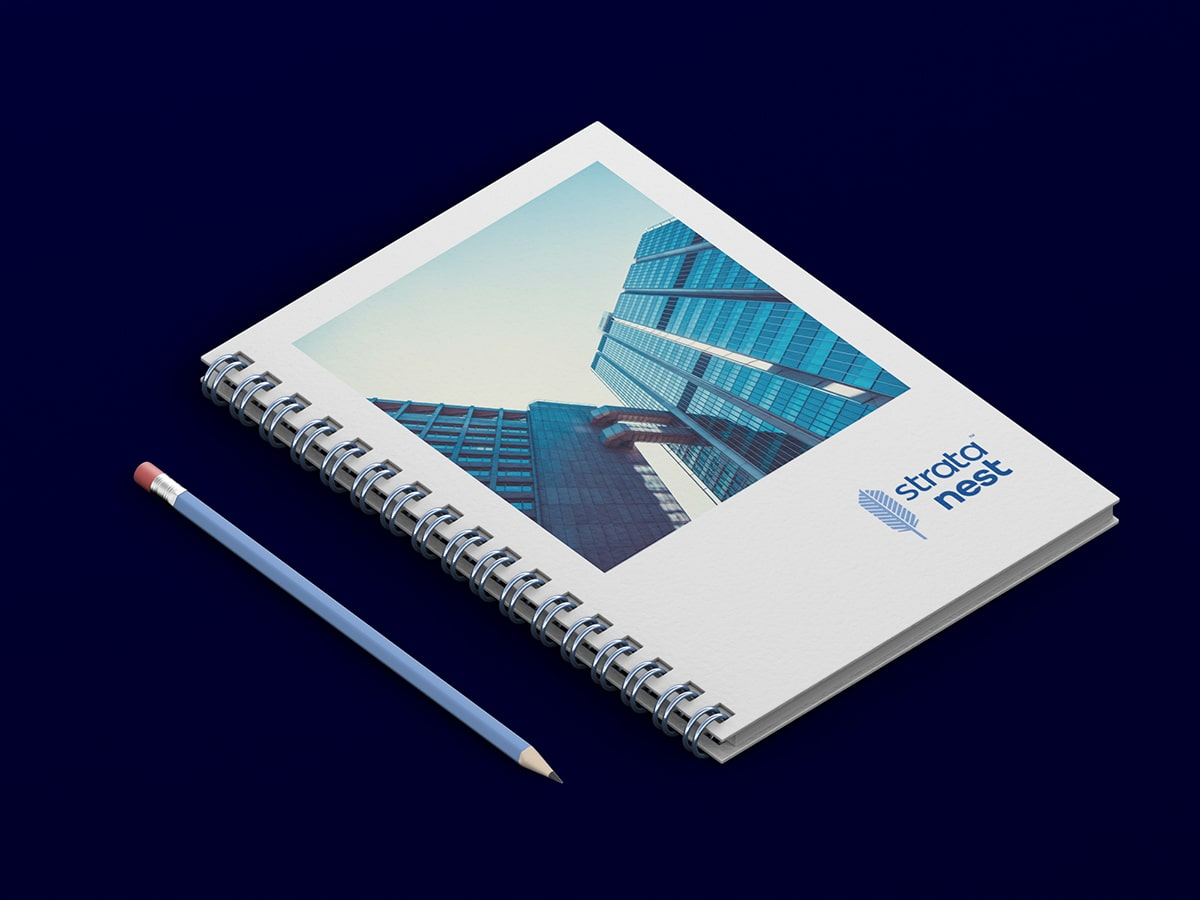 Strata Nest Business Notebook