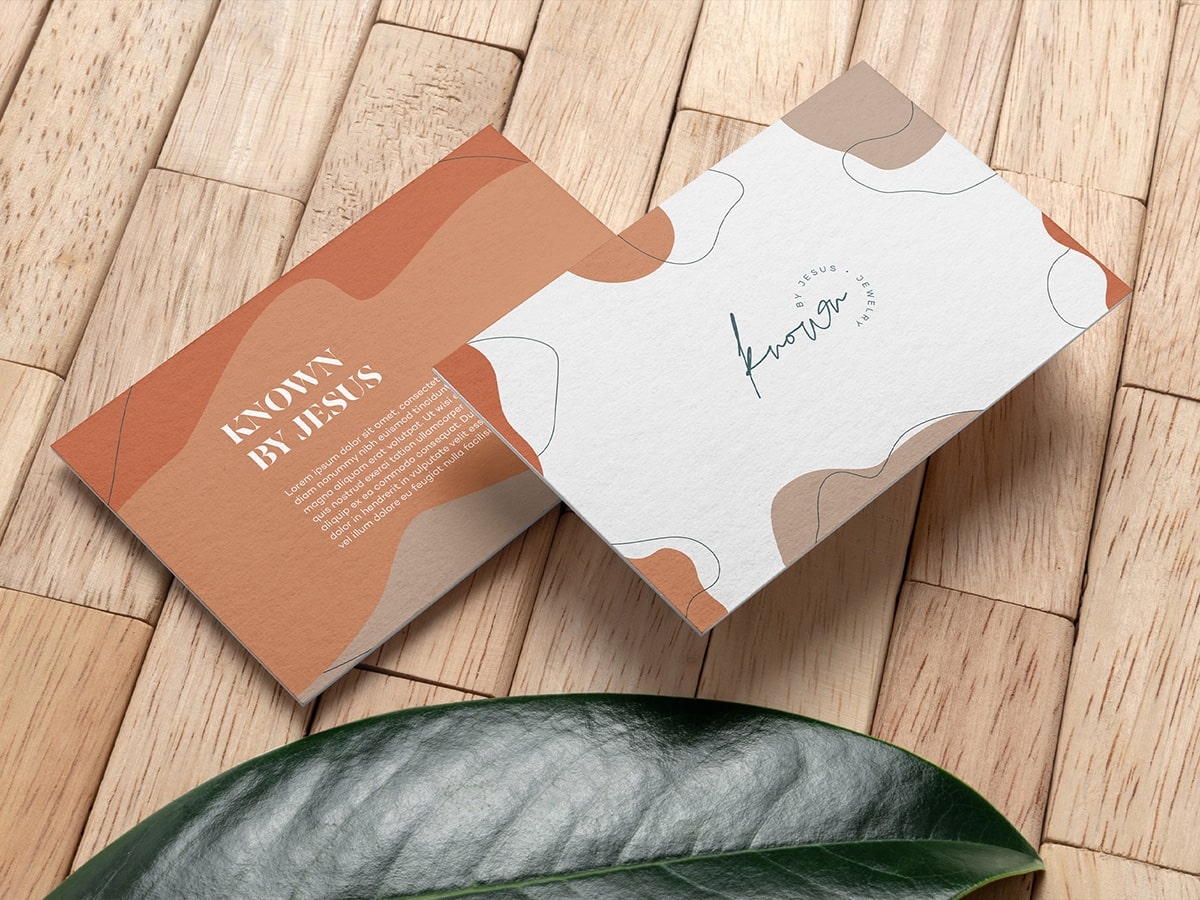 Known Jewelry Envelope Mockup