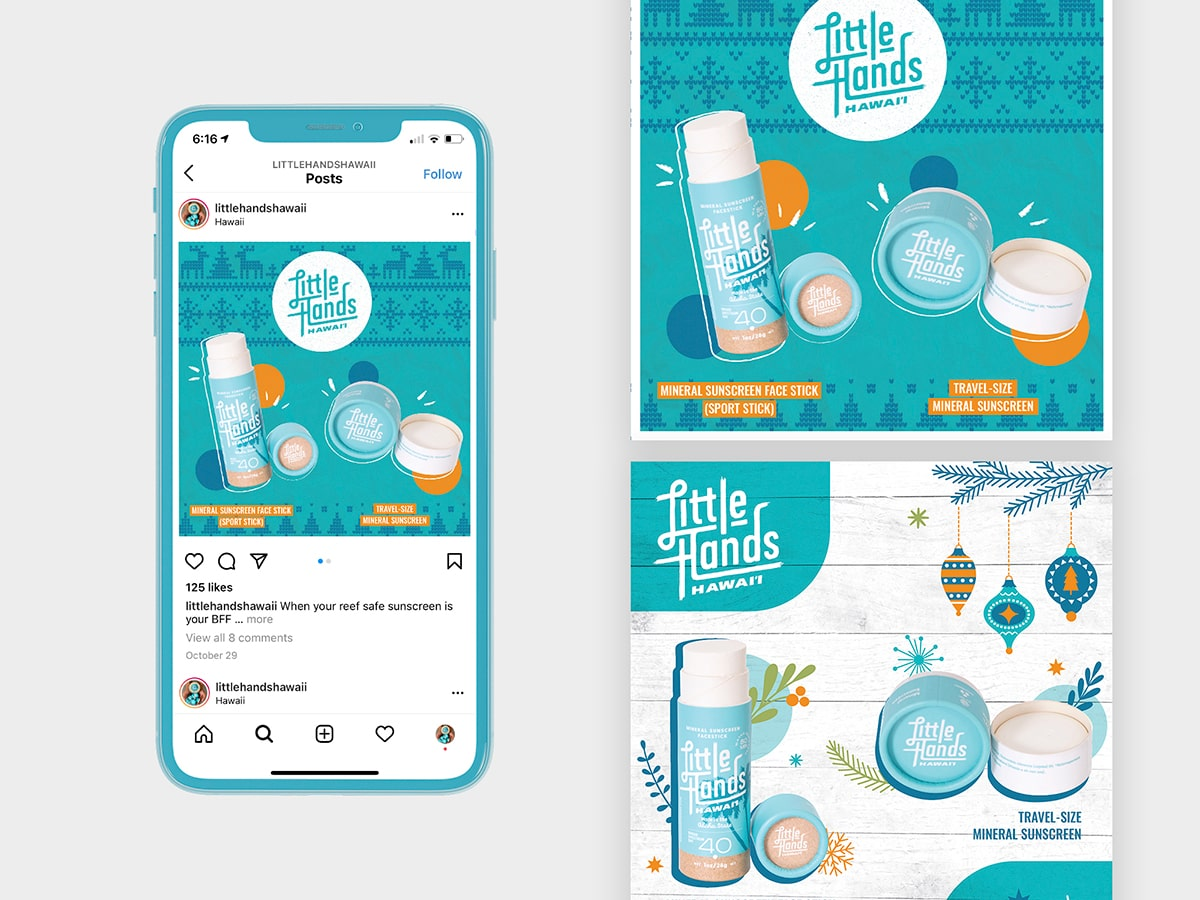 Shop Style Design Holiday Themed Instagram Ads