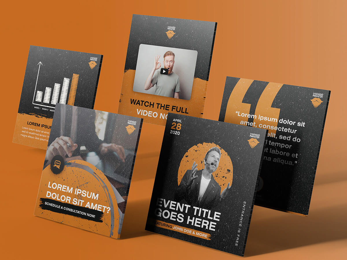 The Bearded Marketer All Mockups