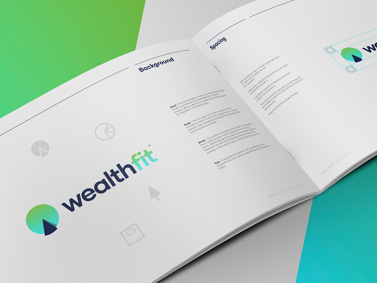 Wealthfit Logo Design